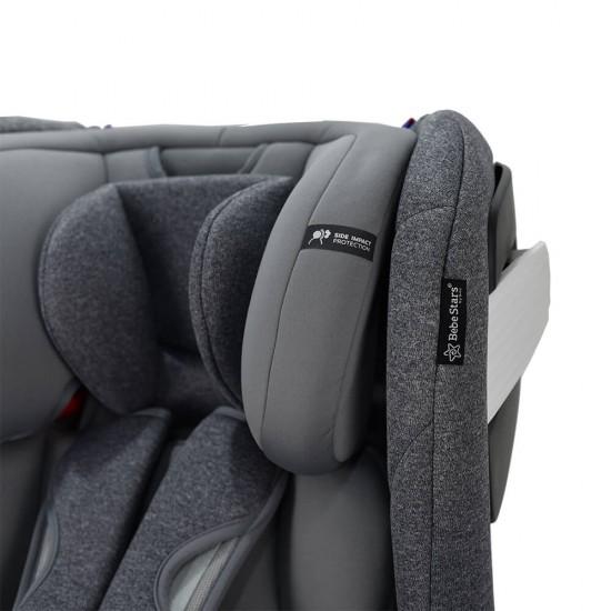 Bebe Stars Κάθισμα Αυτοκινήτου Apex 360° Isofix Grey 925-186