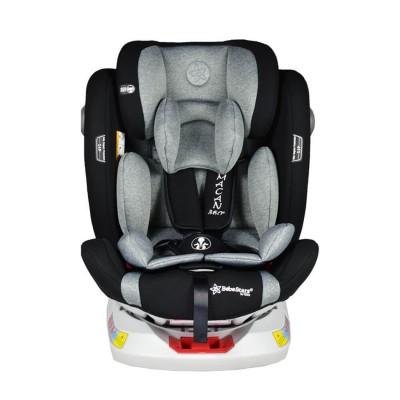 Bebe Stars Macan 360° Grey Κάθισμα Αυτοκινήτου Isofix με Περιστροφή 0-36Kg 920-188