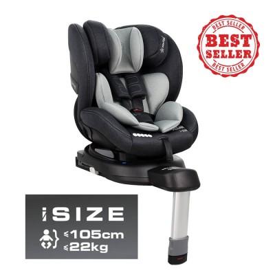 Bebe Stars Κάθισμα Αυτοκινήτου Megan i-Size Grey 926-186