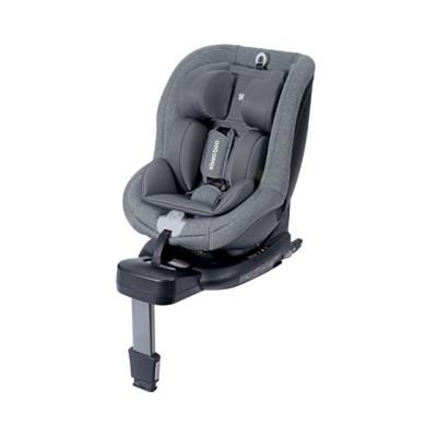 Kikka Boo Odyssey Παιδικό Κάθισμα Αυτοκινήτου με Isofix i Size 40-105cm (0-18Kg) Grey