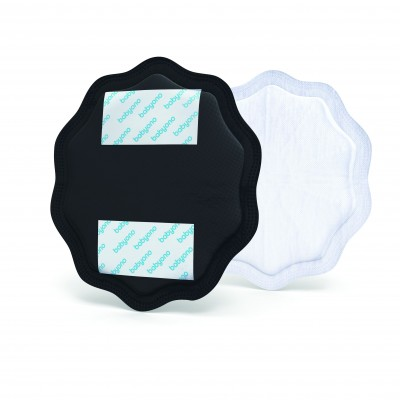 BabyOno Επιθέματα Στήθους Θηλασμού 24 Τεμάχια Μαύρα