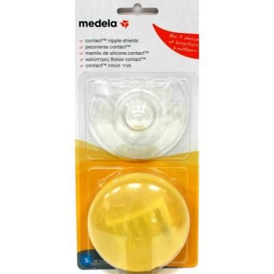 Medela Καλύπτρες Θηλών Contact Nipple Shields Small 2 Τεμ