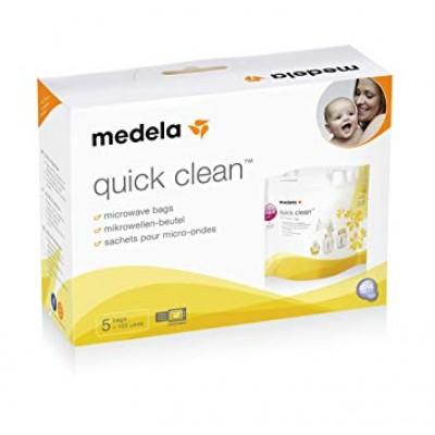 Medela Σάκοι Αποστείρωσης για φούρνο μικροκυμάτων Quick Clean Microwave Bags 5 Τεμ.