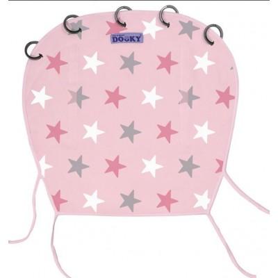 Dooky Ηλιοπροστασία με UV προστασία Pink Stars