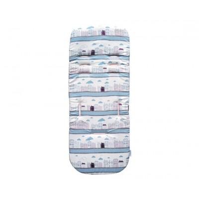 Kikka Boo Κάλλυμα - Στρωματάκι Καροτσιού Memory Foam Candy Streets 31106010010
