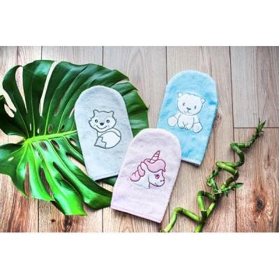 BabyOno Γάντι Πλυσίματος Μωρού από Μπαμπού