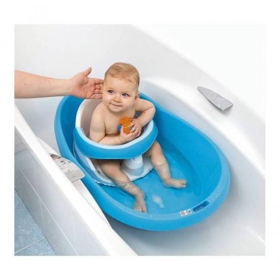 Bebe Angel Κάθισμα - Δαχτυλίδι Μπάνιου 7-16 μηνών Blue