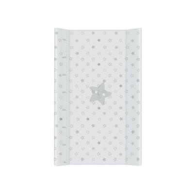 Just Baby Αλλαξιέρα Πλαστική 50x80cm Stars Grey
