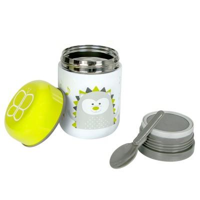 BBLuv Food Θερμός Φαγητού με Κουτάλι Lime B0122-L