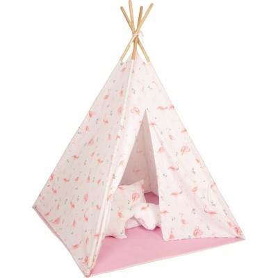 Baby Adventure Παιδική Σκηνή Teepee Flamingo BR75043