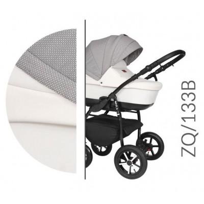 Baby Merc Zipy Q Βρεφικό Σύστημα Μεταφοράς 3 σε 1 White Grey 133B
