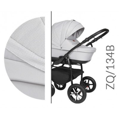 Baby Merc Zipy Q Βρεφικό Σύστημα Μεταφοράς 3 σε 1 Ice Grey 134B