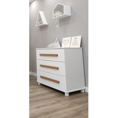 Baby Smile Βρεφική Συρταριέρα 110x52x85cm Anabella