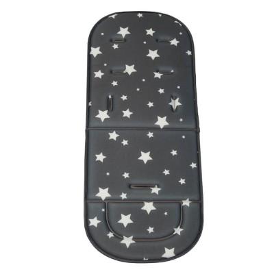 Bebe Stars Μαλακό Κάλυμμα Καροτσιού Stars Dark Grey 208-187
