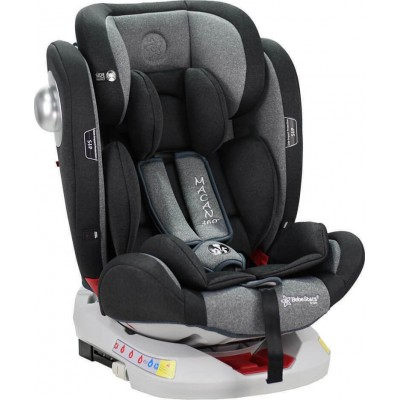 Bebe Stars Macan 360° Grey Κάθισμα Αυτοκινήτου Isofix με Περιστροφή 0-36Kg 920-189