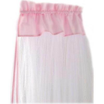 Bebe Stars Κουνουπιέρα Κρεβατιού με ρέλι Pink 602-185