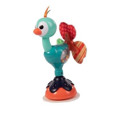 Bo Jungle B-Suction Toy Παιχνίδι Δραστηριοτήτων Με Βεντούζα Cute Peacock B910820
