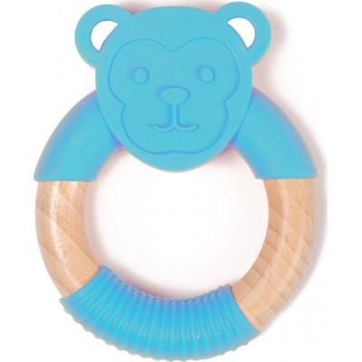 Bo Jungle B-Wood Ξύλινο Μασητικό Blue Monkey 3m+ B561150