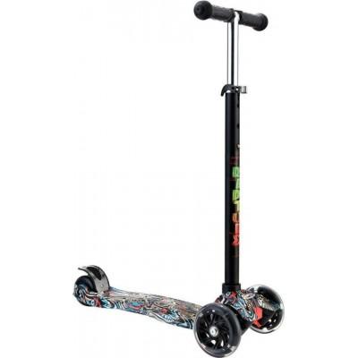Byox Πατίνι Scooter Rapture με Φωτιζόμενες Ρόδες Turquoise 3800146225704