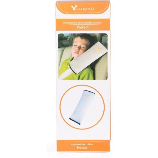 Cangaroo Παιδικό Μαξιλάρι Αυτοκινήτου Ergonomic Pillow Protect