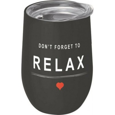 Bioloco Ποτήρι Θερμός Don't Forget To Relax 420ml BEO114