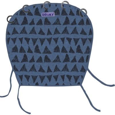 Dooky Υφασμάτινο Σκίαστρο Καροτσιού με UV προστασία Blue Tribal