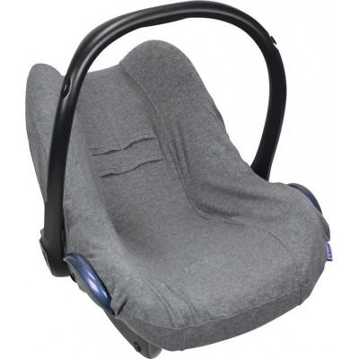 Dooky Seat Cover Βαμβακερό Κάλυμμα Καθίσματος Αυτοκινήτου Group 0+ Dark Grey