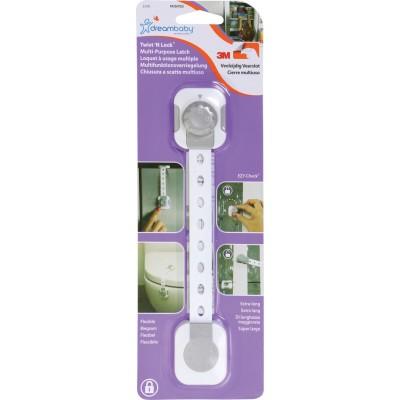 DreamBaby Ασφάλεια Ντουλαπιών & Συρταριών Multi Lock White / Grey BR74693