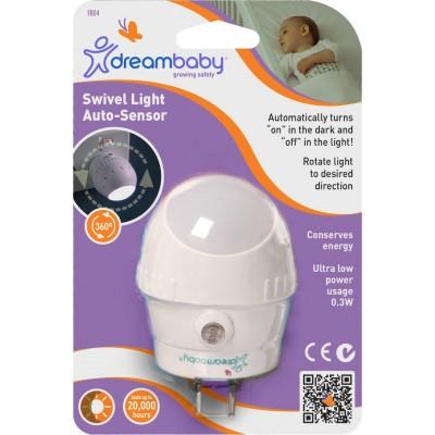 DreamBaby Αυτόματο Περιστεφόμενο Φωτάκι Νυκτός Led BR74715