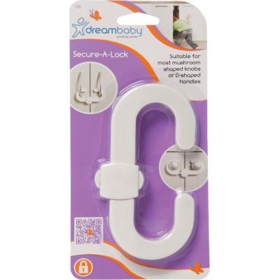 Dreambaby Ασφάλεια για Πόμολα Ντουλαπιών White BR74699