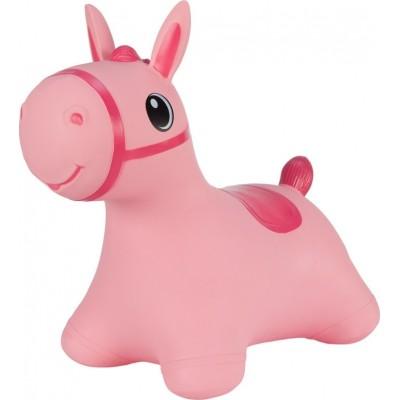 Hoppimals Jumping Horse Φουσκωτό Παιχνίδι Χοπ Χοπ Αλογάκι Pink TFF-NN181