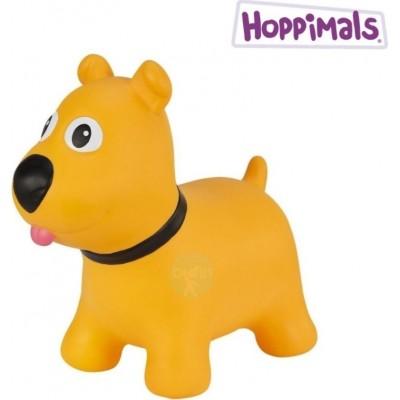 Hoppimals Jumping Dog Φουσκωτό Παιχνίδι Χοπ Χοπ Σκύλος Yellow TFF-NN17