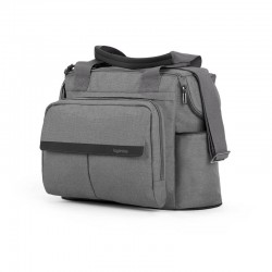 Aptica Dual Bag Inglesina Πρακτική Τσάντα Αλλαξιέρα 2 σε 1 Kensigton Grey AX91N1KSG