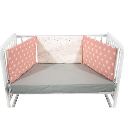 Just Baby Πάντα κρεβατιού Pink Stars JB780.001.PINK.STARS