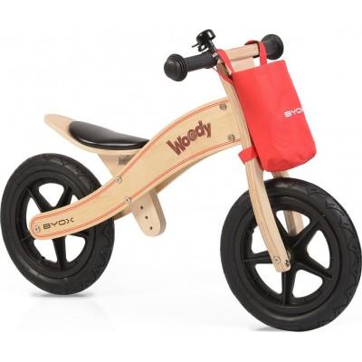 Byox Woody Ξύλινο Ποδήλατο Ισορροπίας Natural 3800146255695