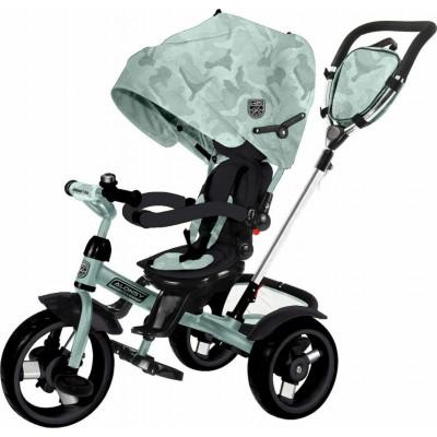 Kikka Boo Aloncy Τρίκυκλο Ποδήλατο 3σε1 με Περιστρεφόμενο Κάθισμα 360° Mint Camouflage 2020 31006020118