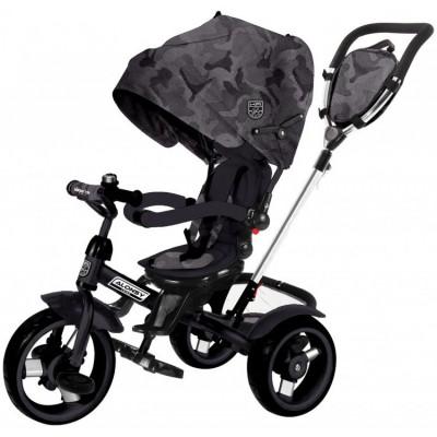Kikka Boo Aloncy Τρίκυκλο Ποδήλατο 3σε1 με Περιστρεφόμενο Κάθισμα 360° Black Camouflage 2020 31006020117