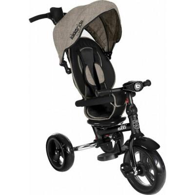 Kikka Boo Nikki Τρίκυκλο Ποδήλατο με Περιστρεφόμενο Κάθισμα και Αναδιπλούμενο Σκελετό Beige Melange 2020 31006020112