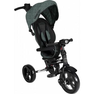 Kikka Boo Nikki Τρίκυκλο Ποδήλατο με Περιστρεφόμενο Κάθισμα και Αναδιπλούμενο Σκελετό Mint Melange 2020 31006020114