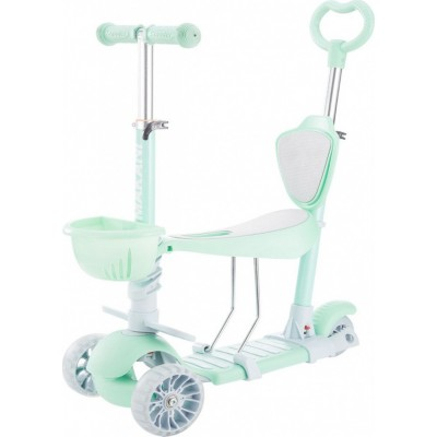Kikka Boo Παιδικό Πατίνι Scooter 4 σε 1 BonBon Candy Mint 31006010099
