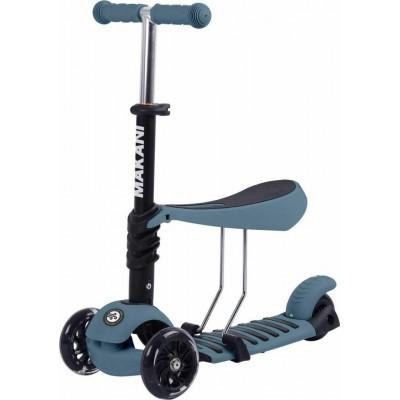 Kikka Boo Makani Παιδικό Πατίνι Scooter 3 in 1 με Κάθισμα Pastel Blue 31006010088