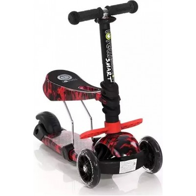 Lorelli Smart Πατίνι Scooter με Κάθισμα Red Fire 10390020013