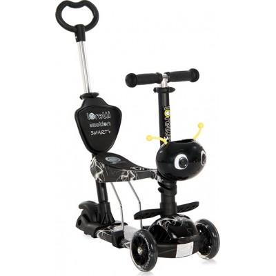 Lorelli Πατίνι Scooter Smart Plus με Κάθισμα Black Flash 10390030015