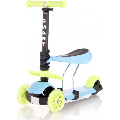 Lorelli Smart Πατίνι Scooter με Κάθισμα Blue & Green 10390020006