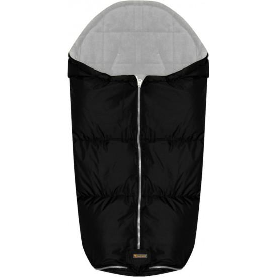 Lorelli Thermo Stroller Bag Αδιάβροχος Ποδόσακος Καροτσιού Black with Grey Polarfleece 20051080202
