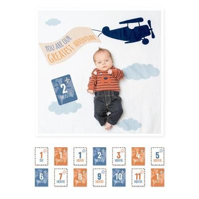 Lulujo Σετ Μουσελίνα & Κάρτες Milestone Greatest Adventure LJ591
