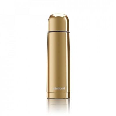 Miniland Deluxe Thermos Θερμός Υγρών 500ml Gold ML89404