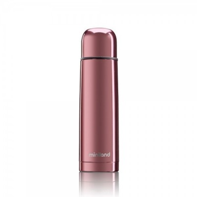 Miniland Deluxe Thermos Θερμός Υγρών 500ml Rose Gold ML89405