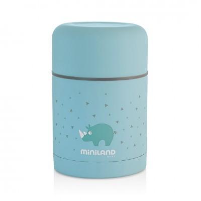 Miniland Silky Food Thermos Θερμός Φαγητού 600ml Blue ML89221