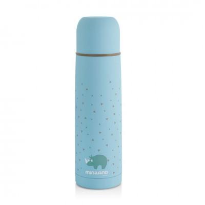 Miniland Silky Thermos Θερμός Υγρών 500ml Blue ML89218